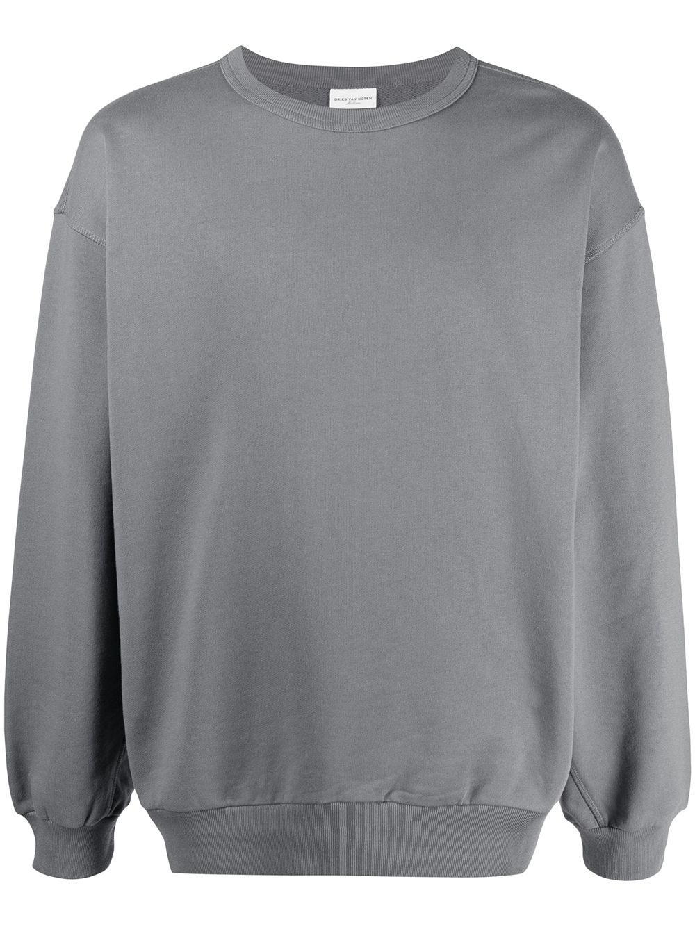 LONG SLEEVE SHIRT DRIES VAN NOTEN   Sweatshirts   HAXTI2609GREY
