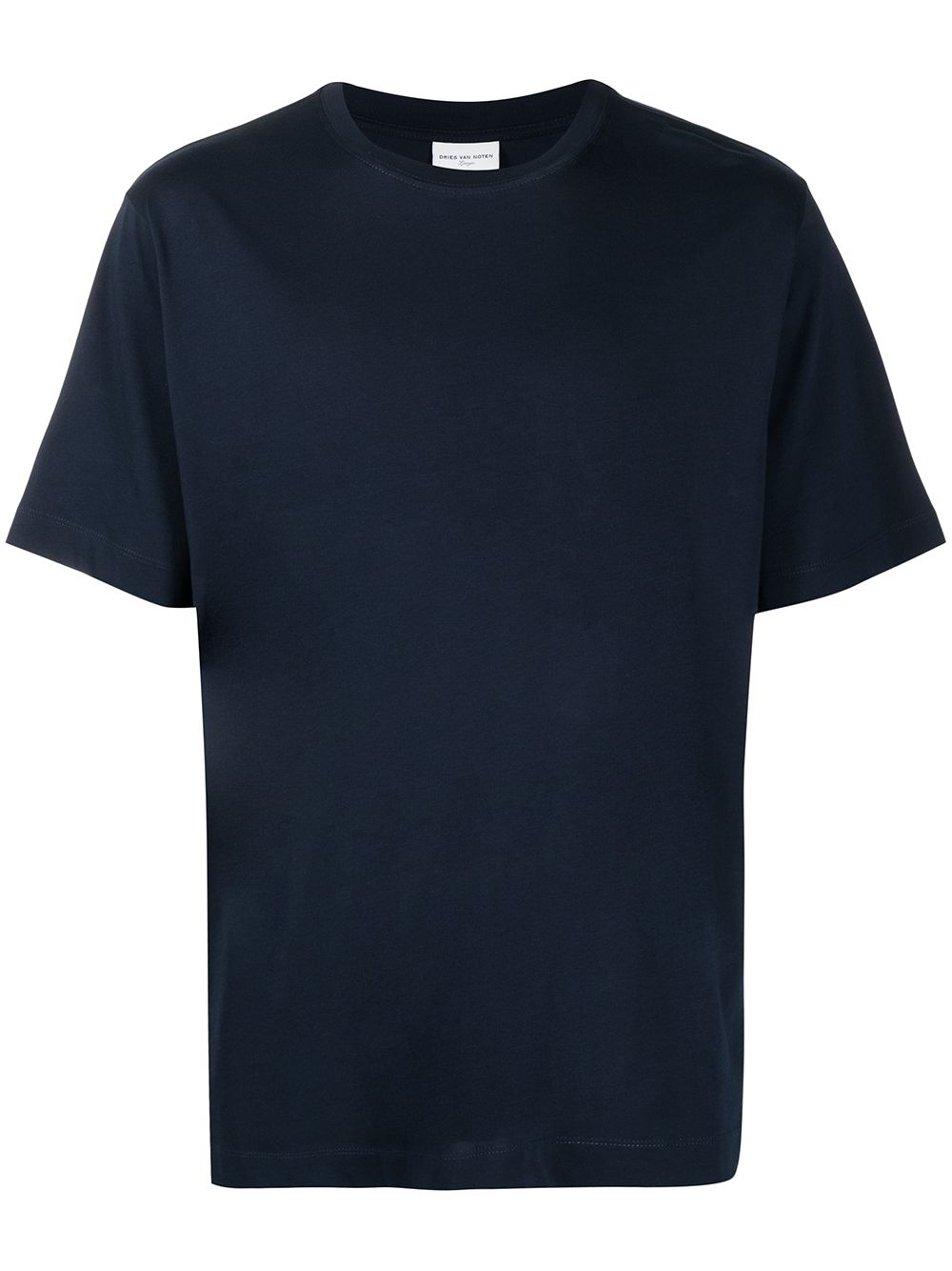 BASIC T-SHIRT DRIES VAN NOTEN | T-shirts | HEEB2600NAVY