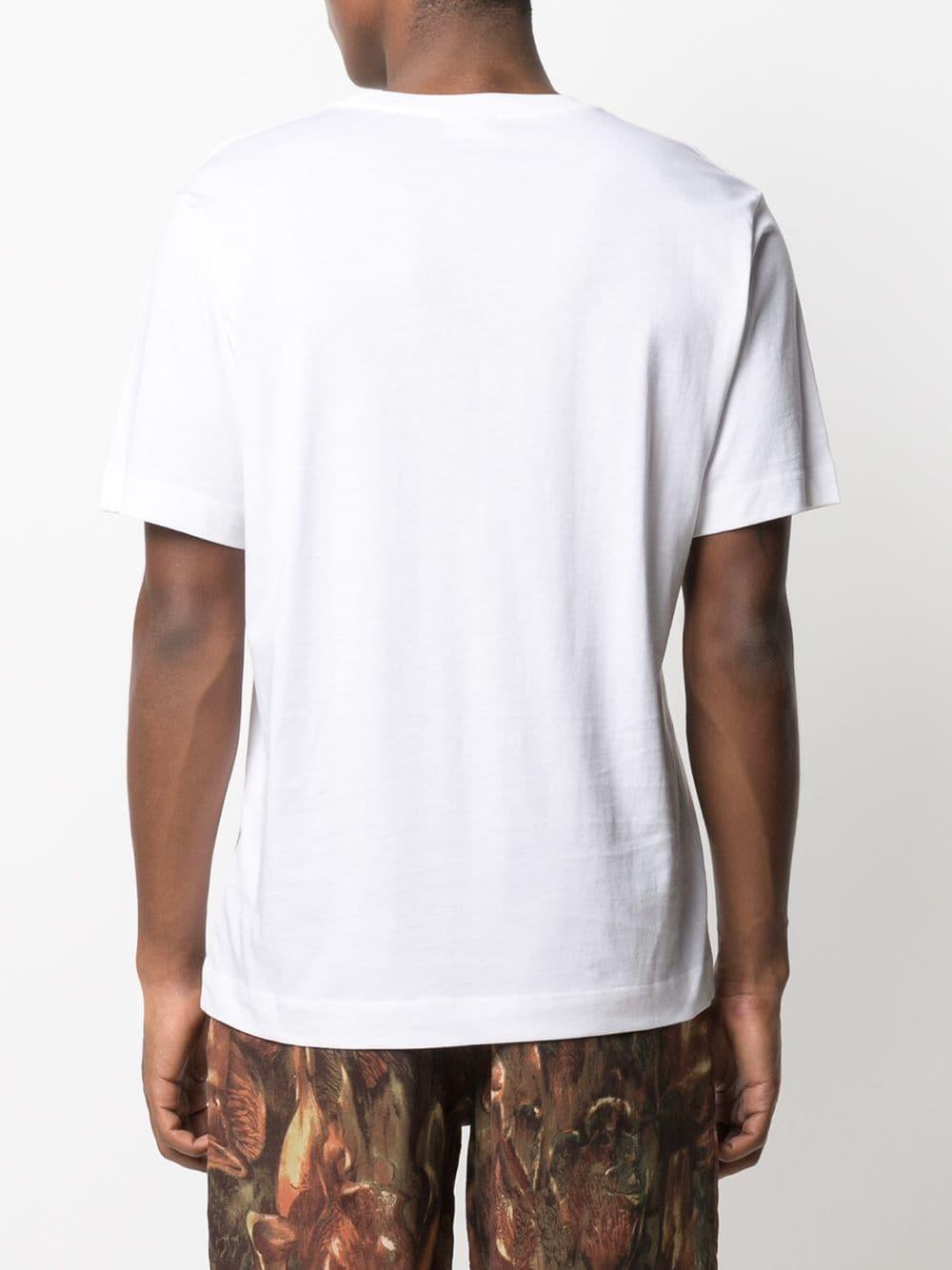 Dries Van Noten t-shirt basic uomo DRIES VAN NOTEN | T-shirt | HEEB2600WHITE