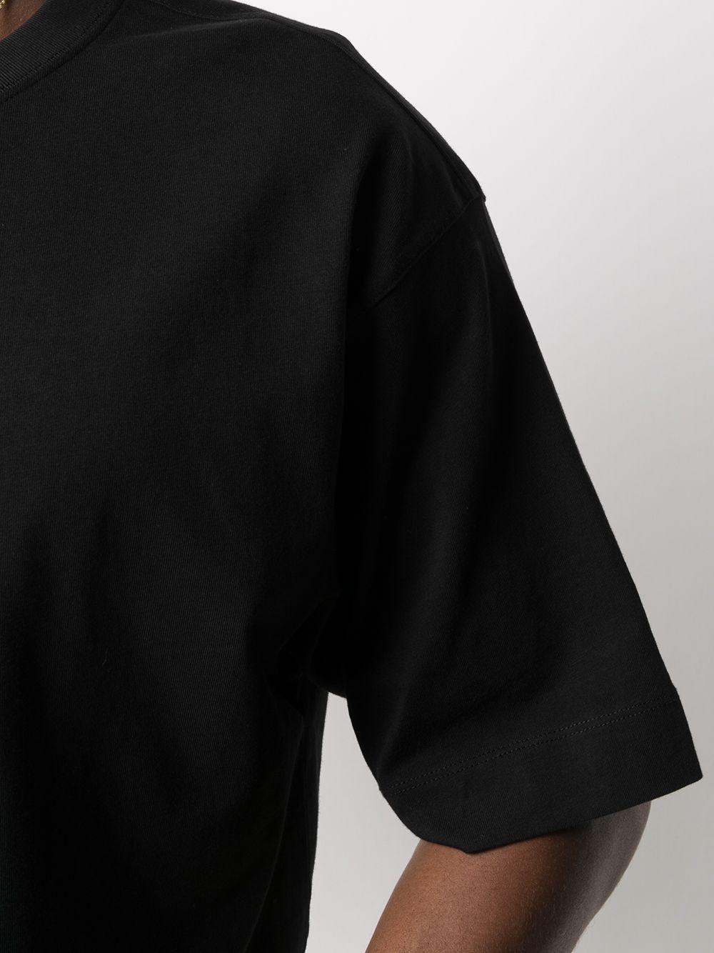Dries Van Noten t-shirt oversize uomo DRIES VAN NOTEN | T-shirt | HELI2603BLACK