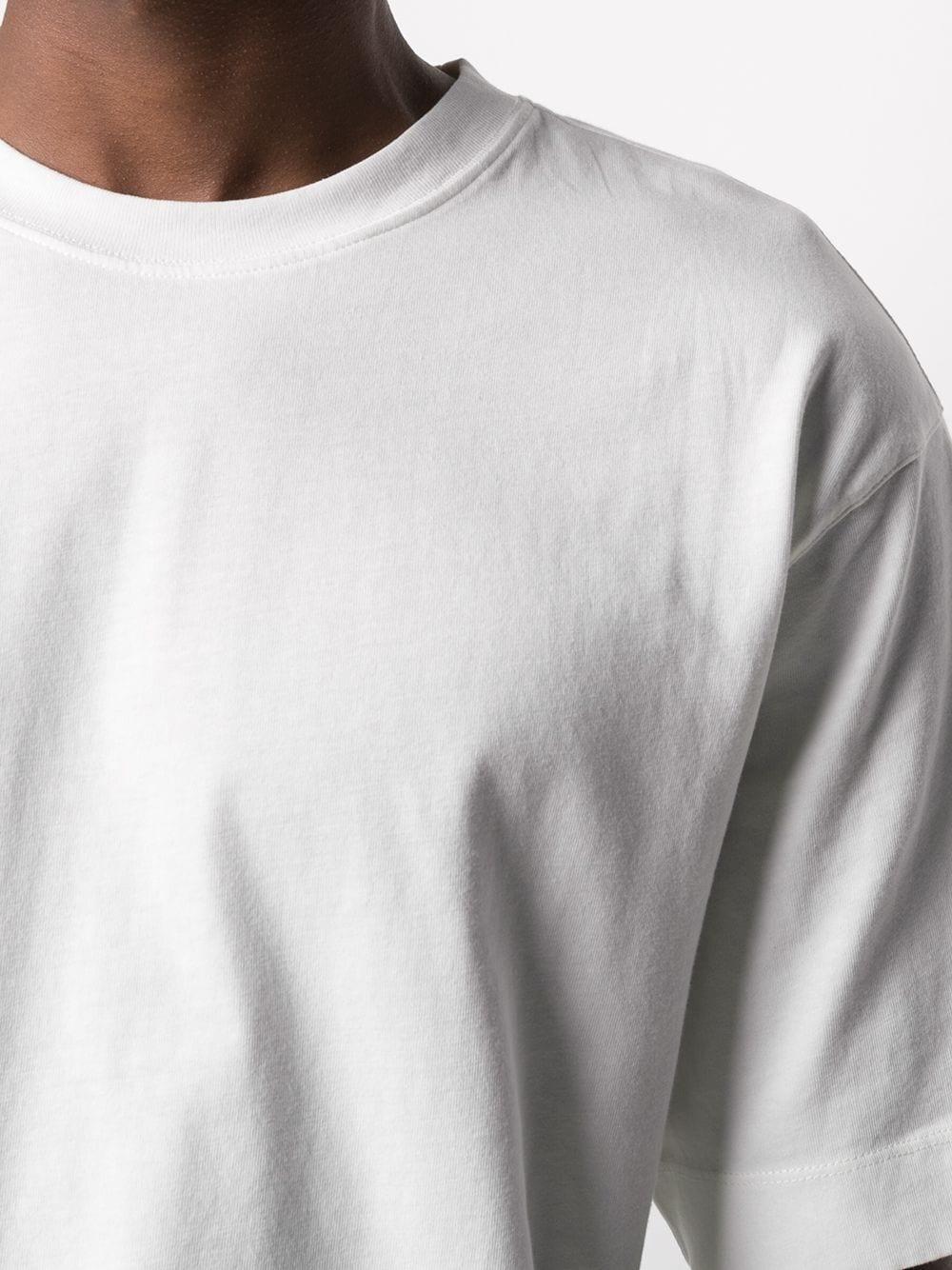 Dries Van Noten heli t-shirt uomo DRIES VAN NOTEN | T-shirt | HELI2603OFFWHITE