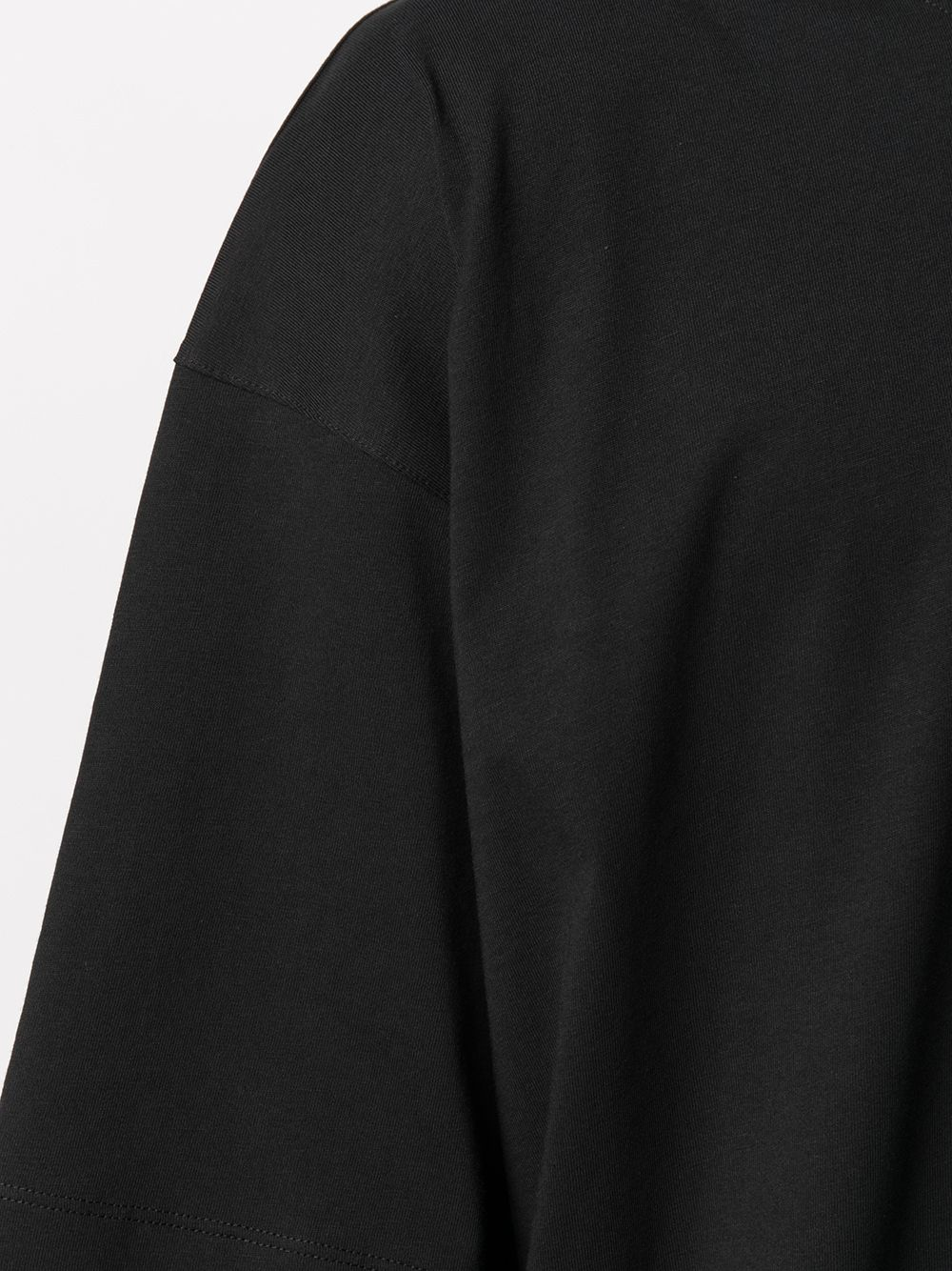 Hen t-shirt man black cotton DRIES VAN NOTEN   T-shirts   HEN2603BLACK