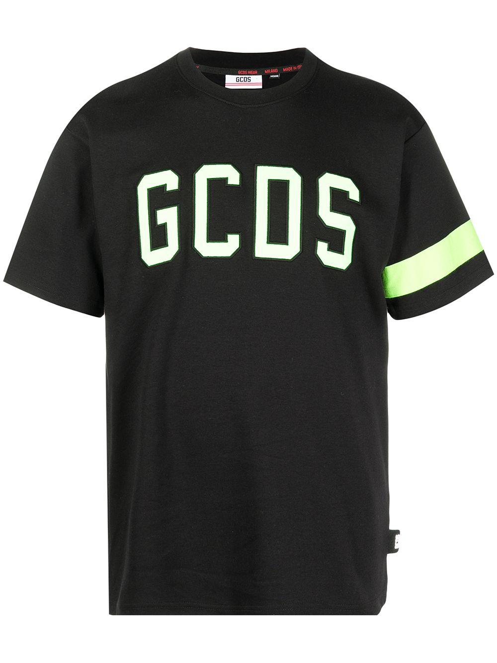Gcds t-shirt logo neon uomo GCDS | T-shirt | CC94M02100451