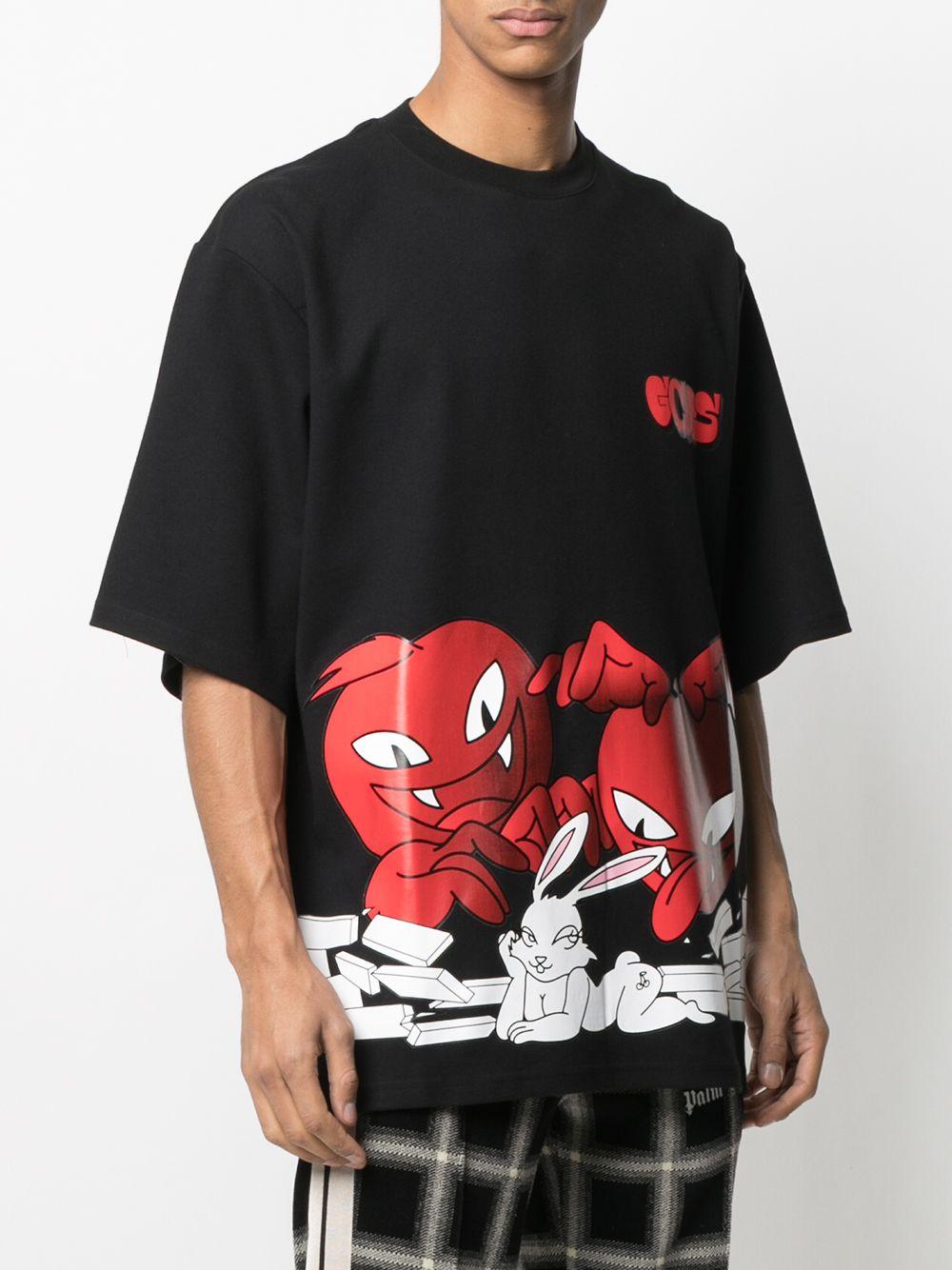 Gcds t-shirt logo uomo GCDS | T-shirt | SS21M02007802