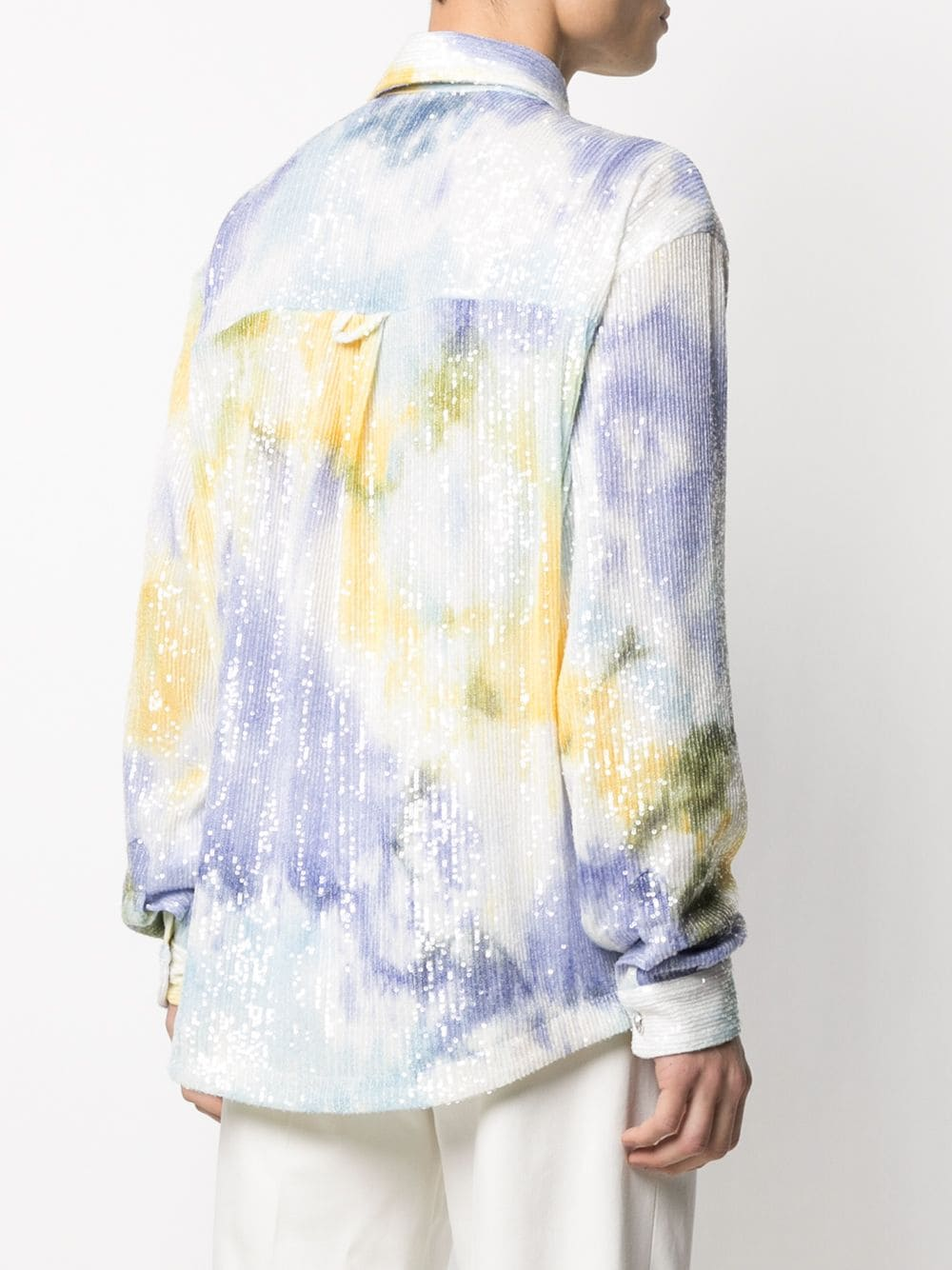 Gcds camicia tie-dye uomo GCDS | Camicie | SS21M040111MX