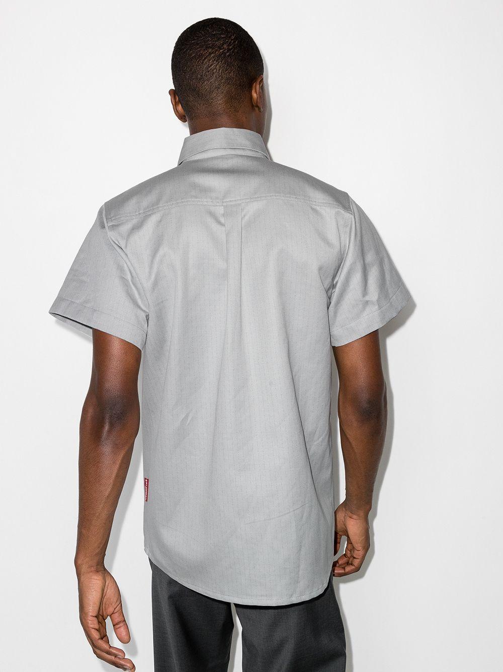 Gr10k two pocket shirt man grey GR10K | Shirts | GR011COLD GREY