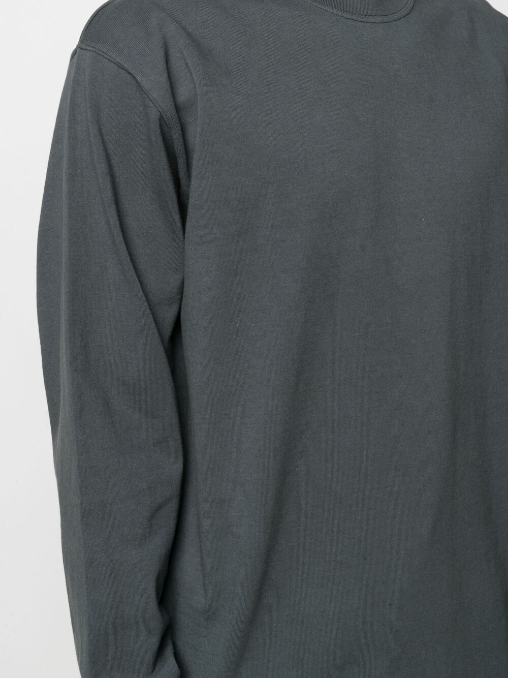 Gr10K felpa a girocollo uomo grigio anthracite GR10K   T-shirt   GR016ANTRACITE