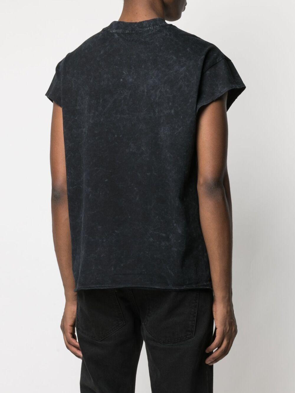 Print t-shirt black man cotton HONEY FUCKING DIJON | T-shirts | HFD03T004BLACK
