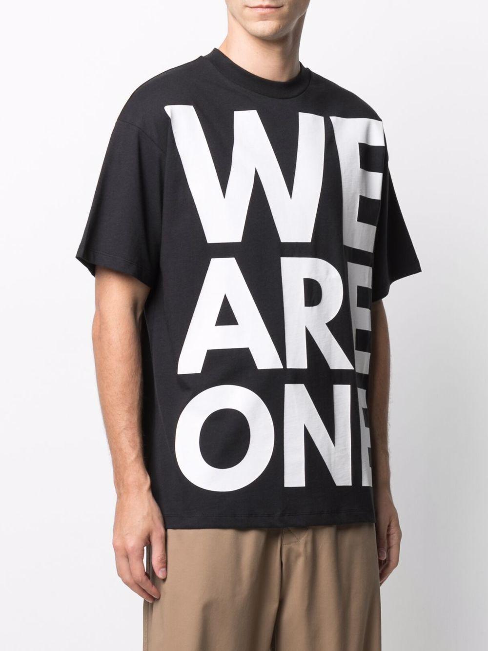 T-shirt con stampa uomo nero cotton HONEY FUCKING DIJON | T-shirt | HFD03T008BLACK