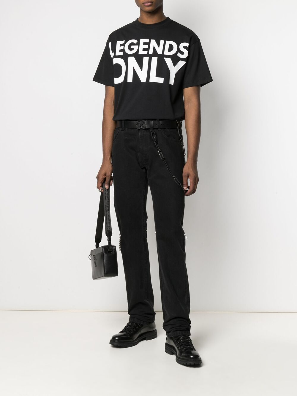 Honey Fucking Dijon print t-shirt man black HONEY FUCKING DIJON | T-shirts | HFD03T009BLACK
