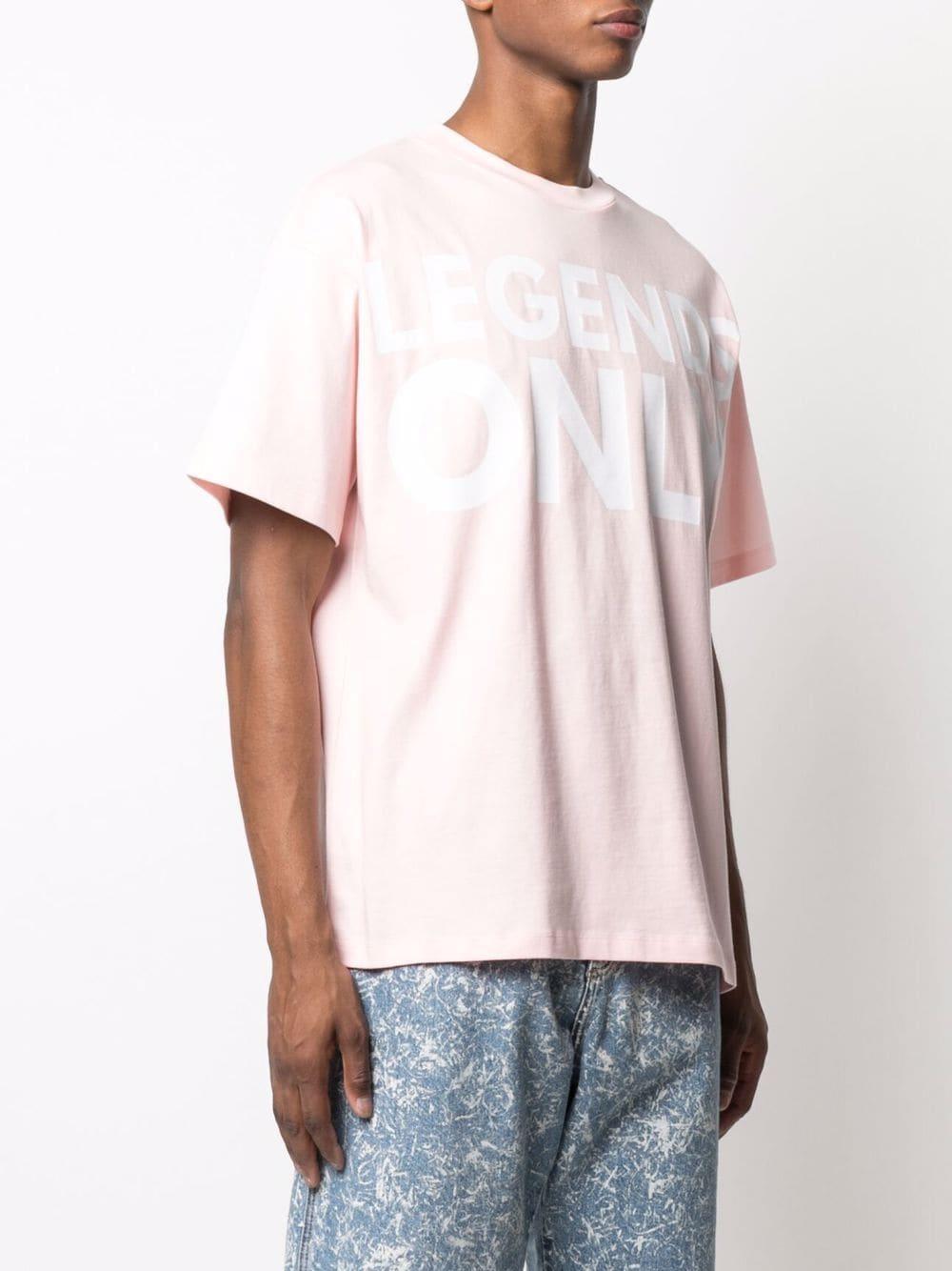 Printed t-shirt pink man cotton HONEY FUCKING DIJON | T-shirts | HFD03T009PINK