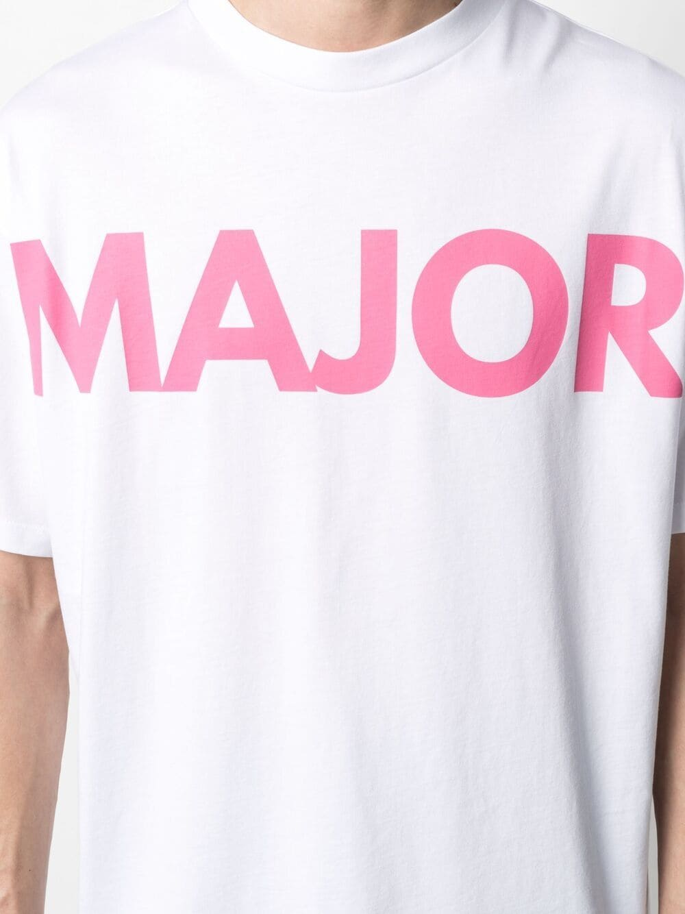 T-Shirt Con Stampa Unisex Bianca Cotone HONEY FUCKING DIJON | T-shirt | HFD03T010WHITE