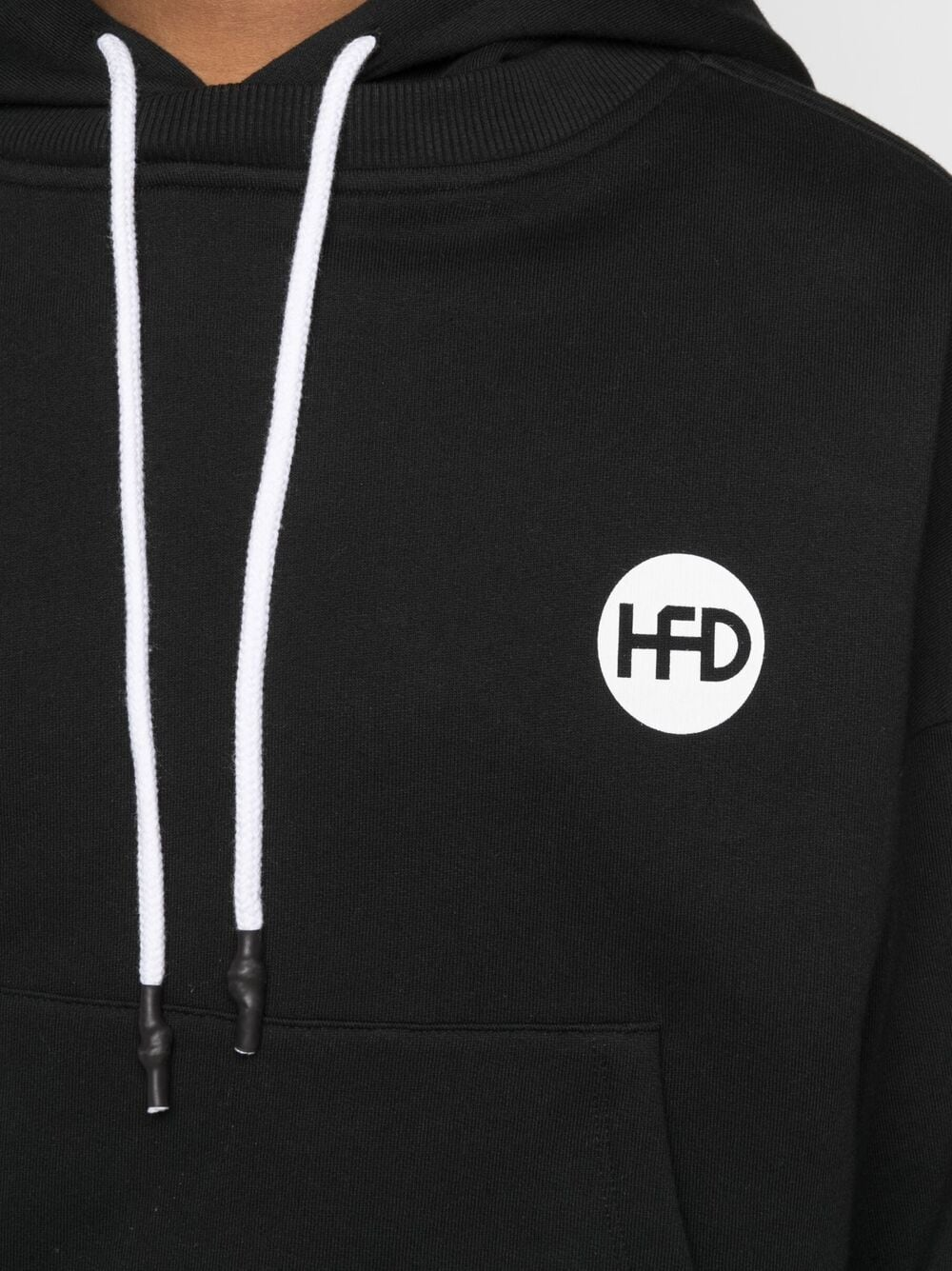 Honey Fucking Dijon logo sweatshirt man black HONEY FUCKING DIJON | Sweatshirts | HFD03T022BLACK