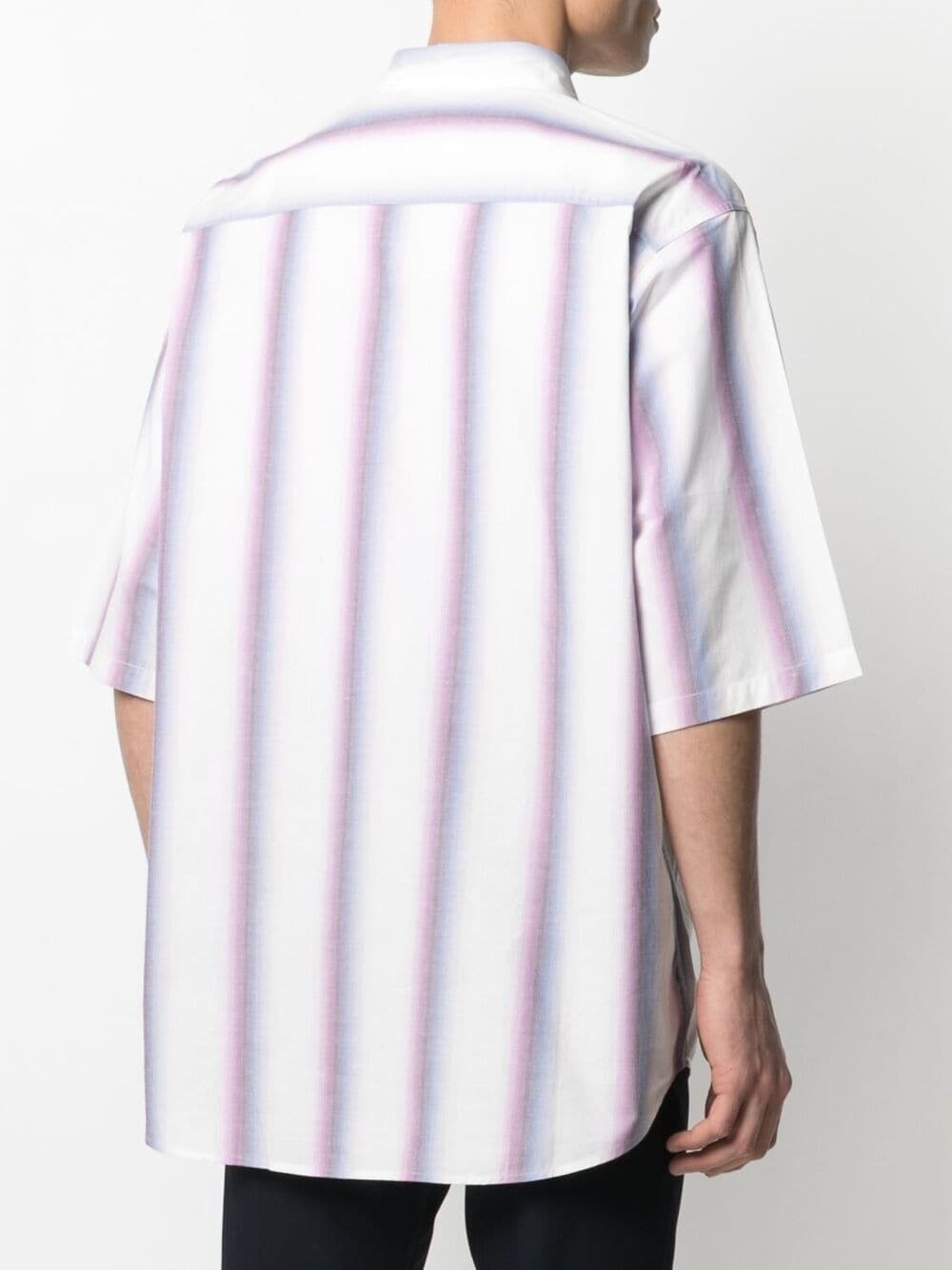 Stripe Rajalo Shirt White Man Cotton ISABEL MARANT   Shirts   CH0725-21P023H40PK