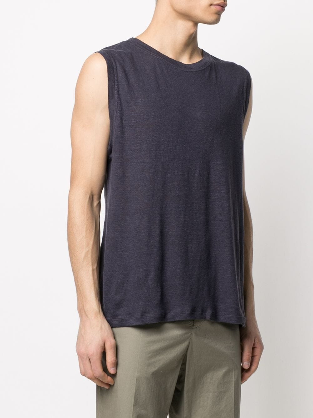 Cornell t-shirt Black Man Cotton ISABEL MARANT   T-shirts   TS0698-21P039H30FN