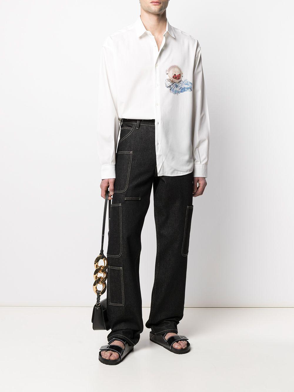 Jacquemus camicia con stampa uomo JACQUEMUS | Camicie | 215SH03PRINT CHERRIES