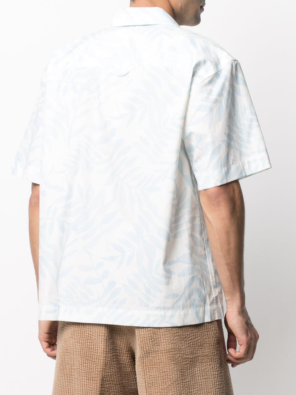 PRINT SHIRT JACQUEMUS | Shirts | 215SH21PRINT BLUE LEAVES