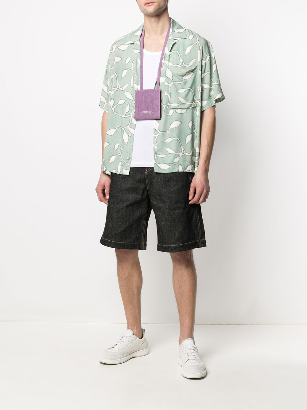 PRINT SHIRT JACQUEMUS | Shirts | 215SH21PRINT GREEN LEAVES