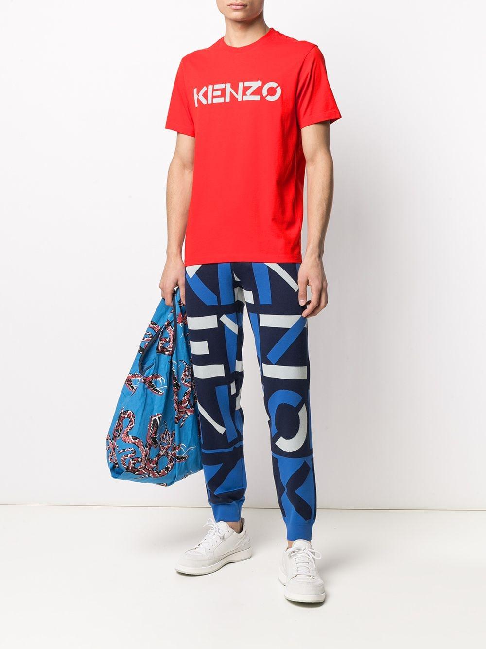 Kenzo t-shirt con logo uomo KENZO | T-shirt | FA65TS0004SJ21