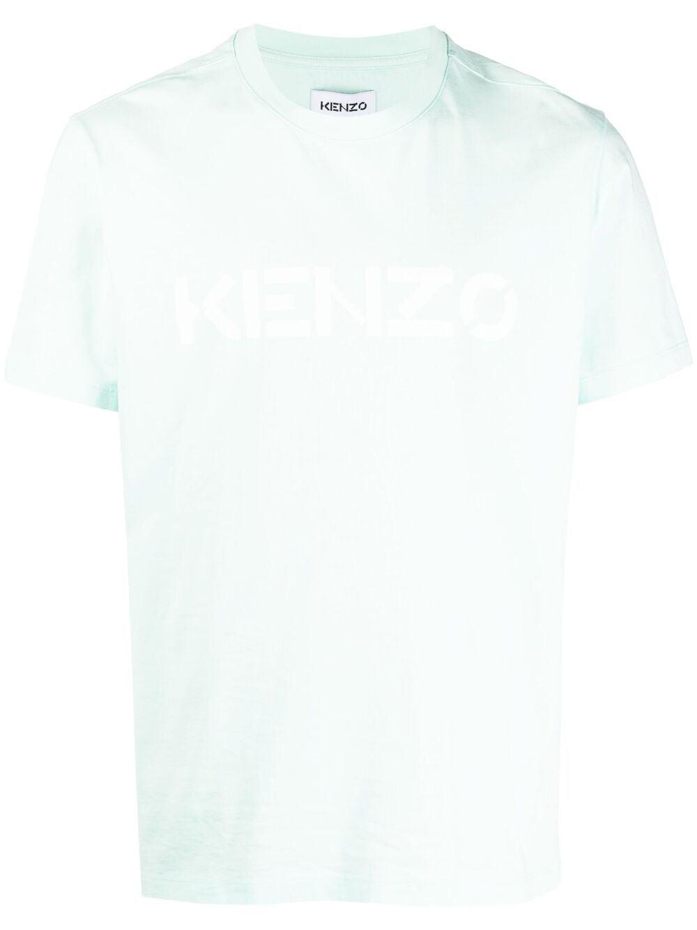 LOGO PRINT T-SHIRT KENZO | T-shirts | FA65TS0004SJ58