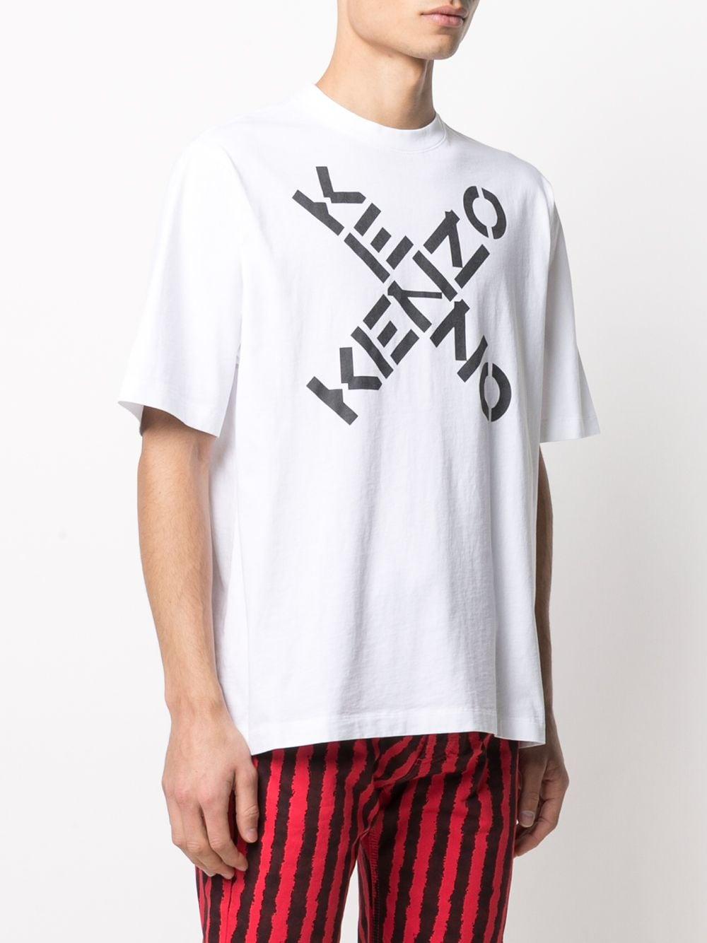 Kenzo t-shirt con logo uomo KENZO | T-shirt | FA65TS5024SJ01