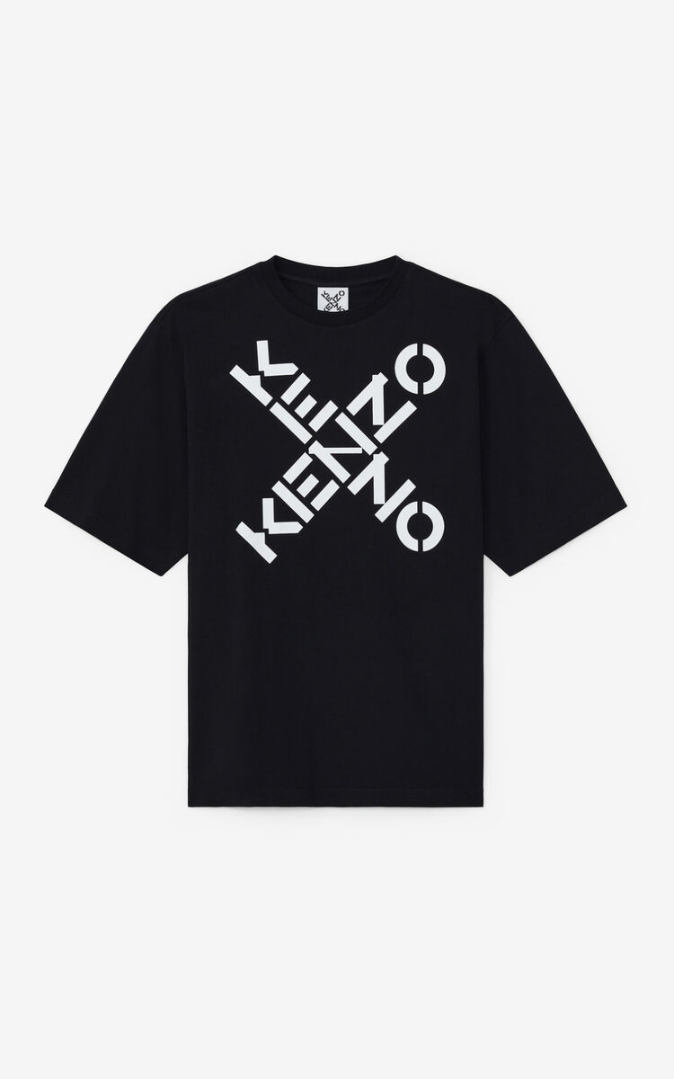 Kenzo t-shirt logo uomo KENZO | T-shirt | FA65TS5024SJ99