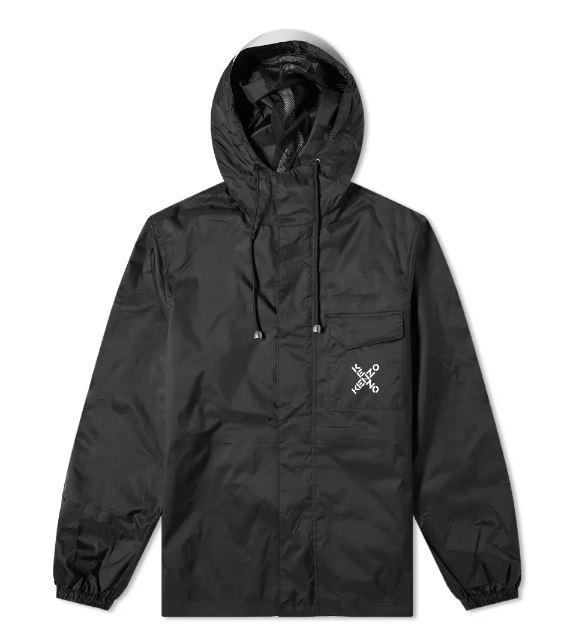 logo jacket man black KENZO | Jackets | FB55BL5601NJ99