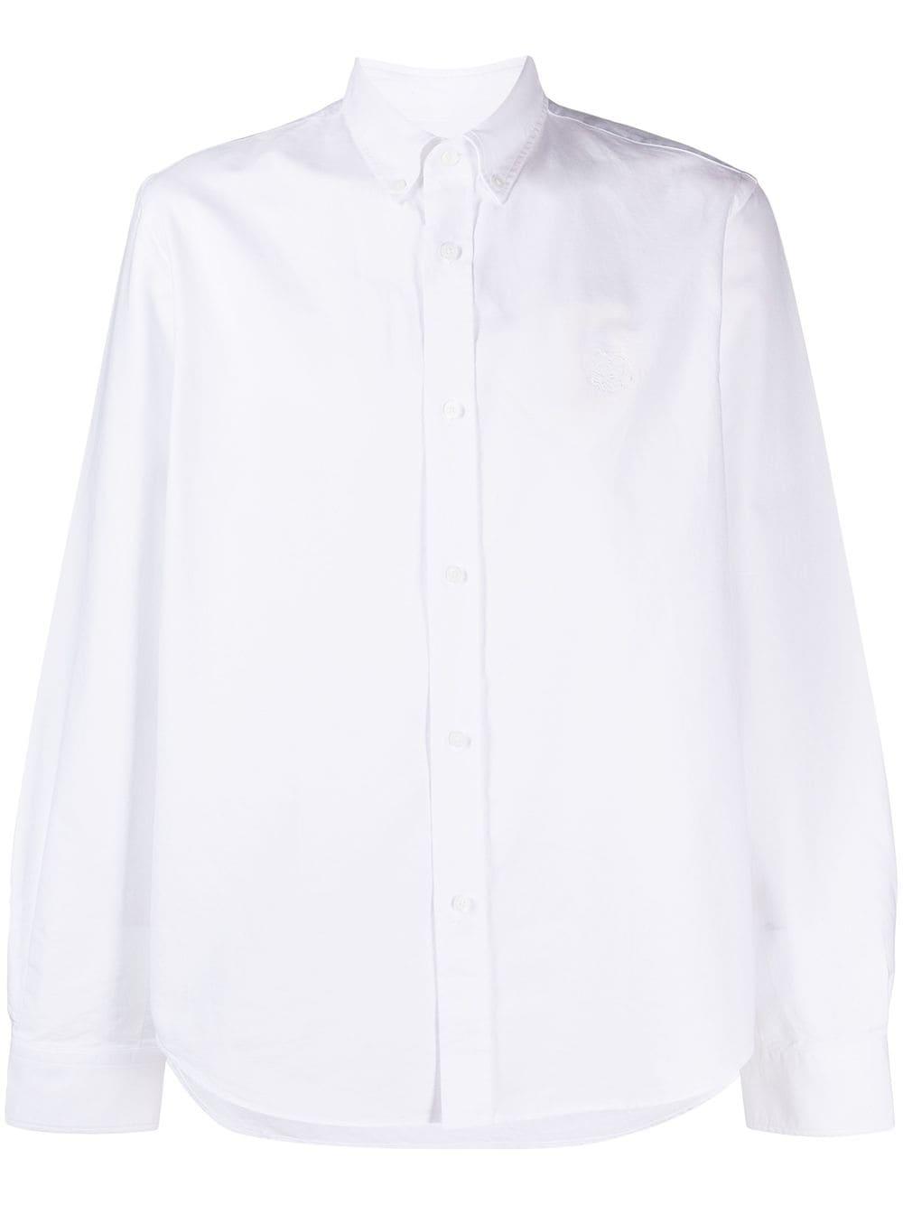 EMBROIDERED LOGO SHIRT KENZO | Shirts | FB55CH4001LD01