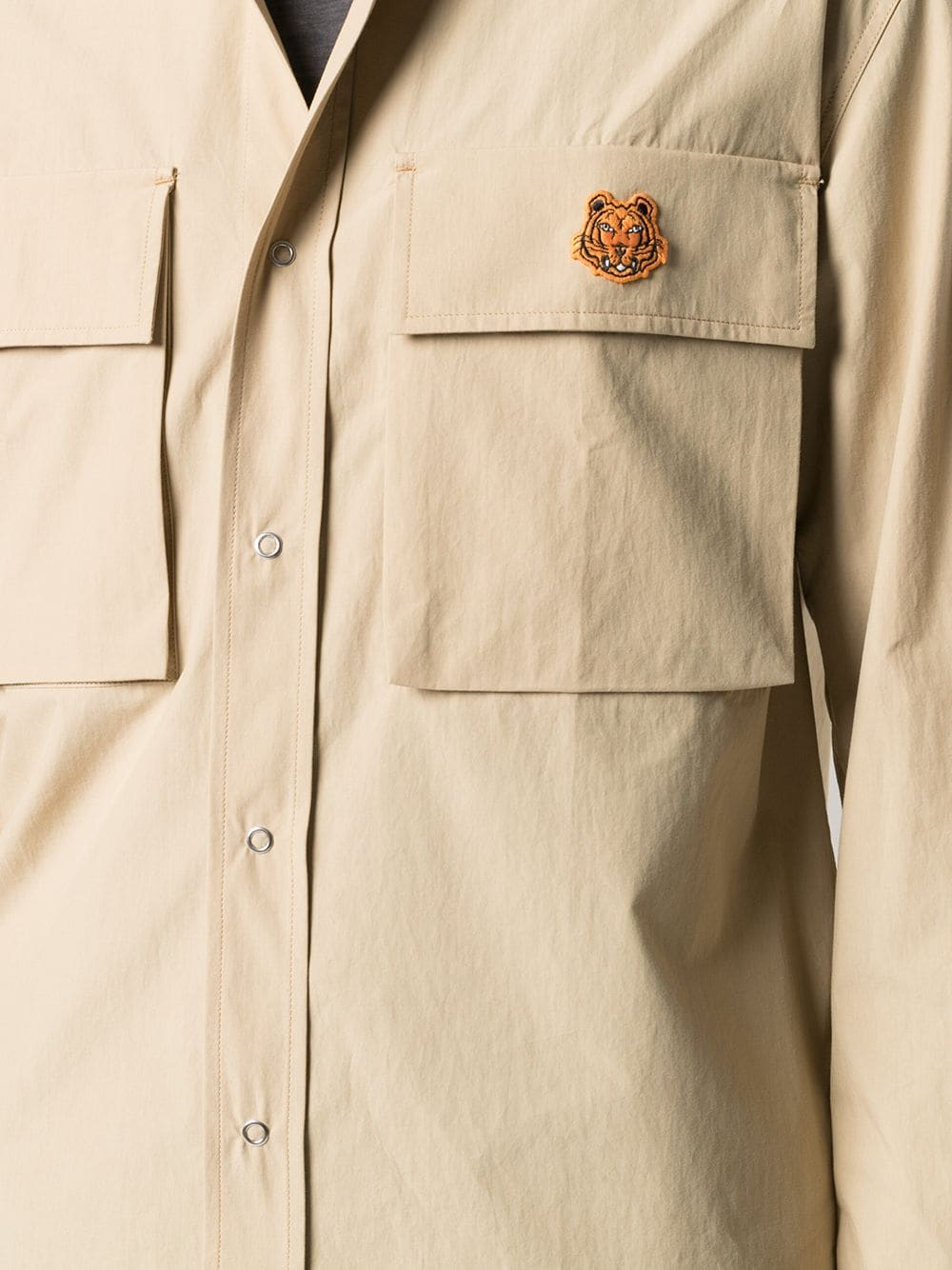 TIGER CREST SHIRT KENZO | Shirts | FB55CH5039SA11