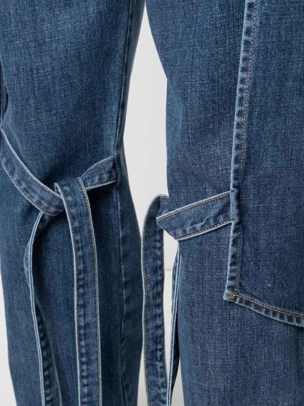 Jeans A Gamba Dritta Uomo KENZO | Jeans | FB55DP3309EA62