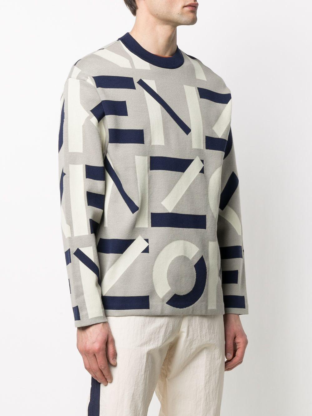 INTARSIA KNIT LOGO KENZO | Sweaters | FB55PU5323SC95
