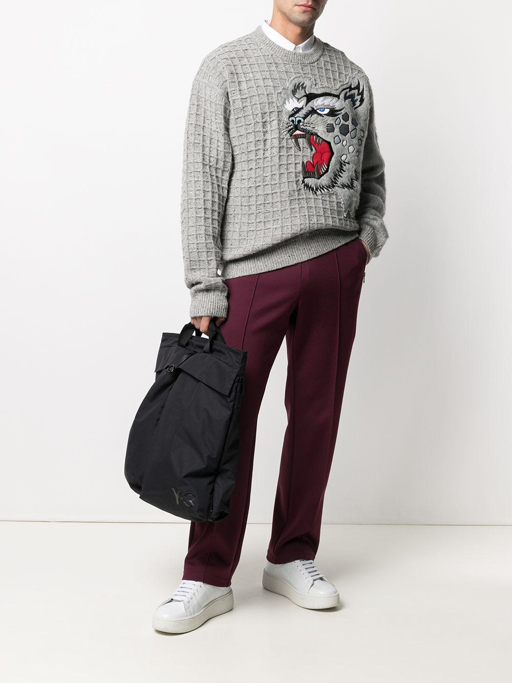 Kenzo pullover cheetah uomo KENZO | Maglieria | FB55PU5423AE95