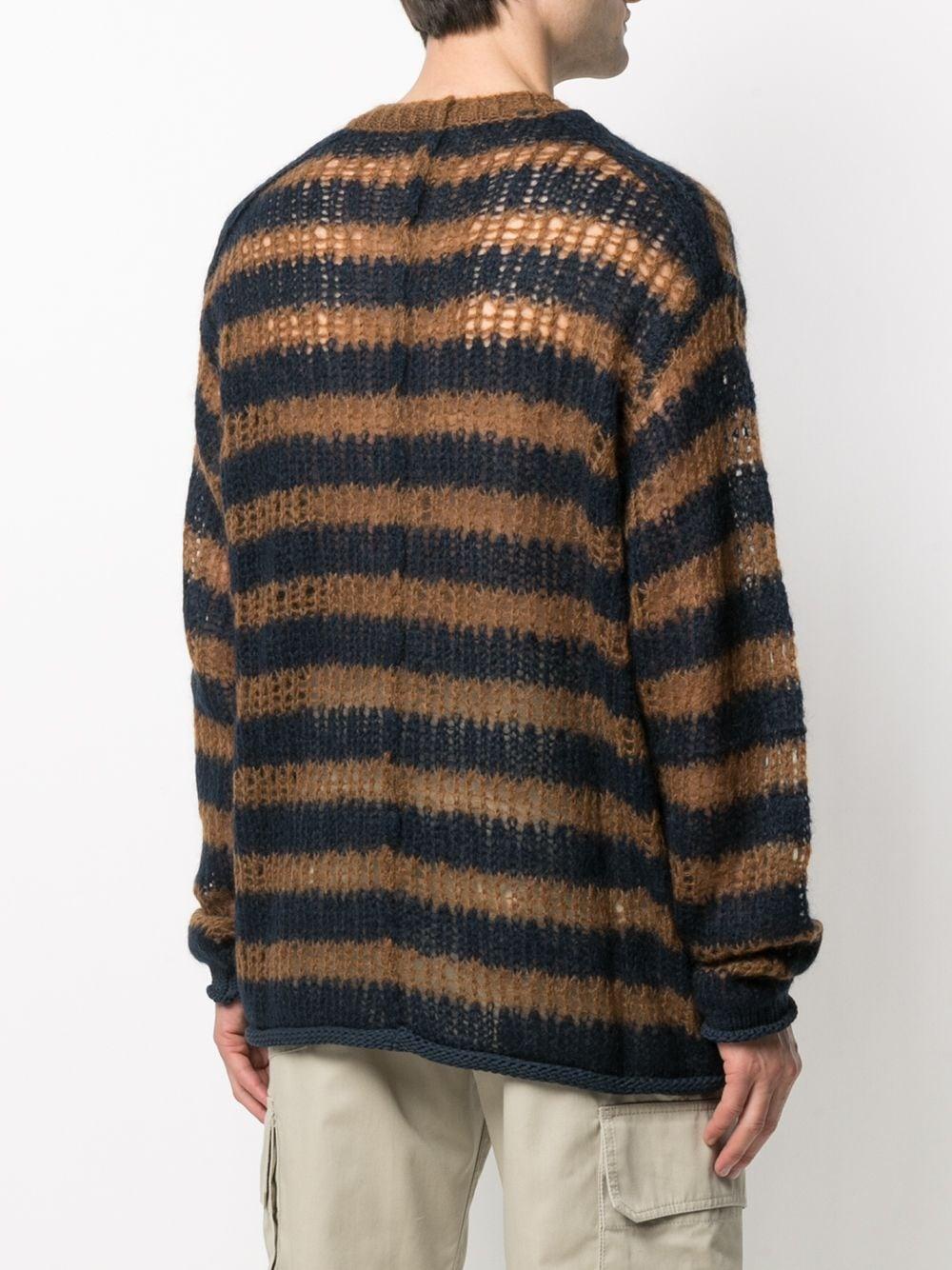 striped knitted jumber man wool KENZO | Sweaters | FB55PU5513CA76