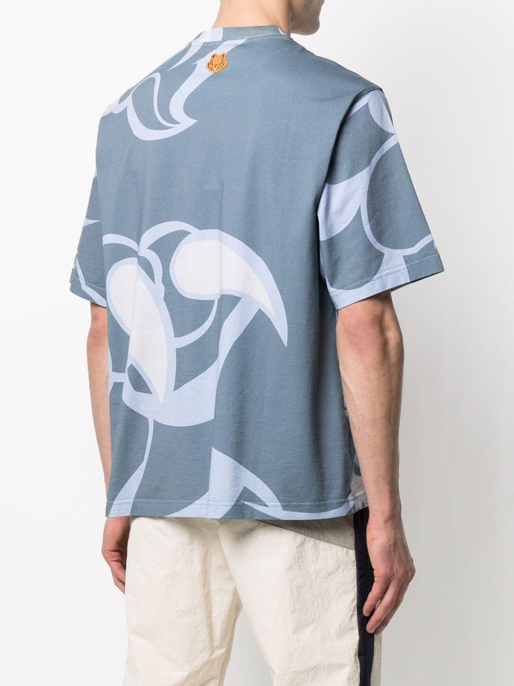 Kenzo t-shirt con stampa uomo KENZO | T-shirt | FB55TS0734SK67