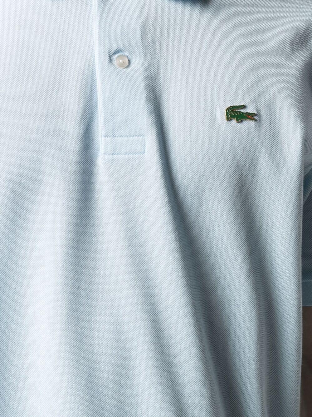 Lacoste Live logo polo man blue LACOSTE   Polo   PH9164T01