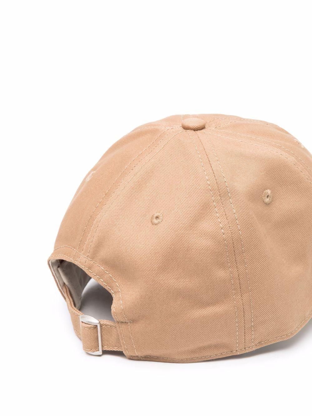 Cappellino con Logo Marrone Uomo in Cotone LACOSTE   Cappelli   RK9010Z1S