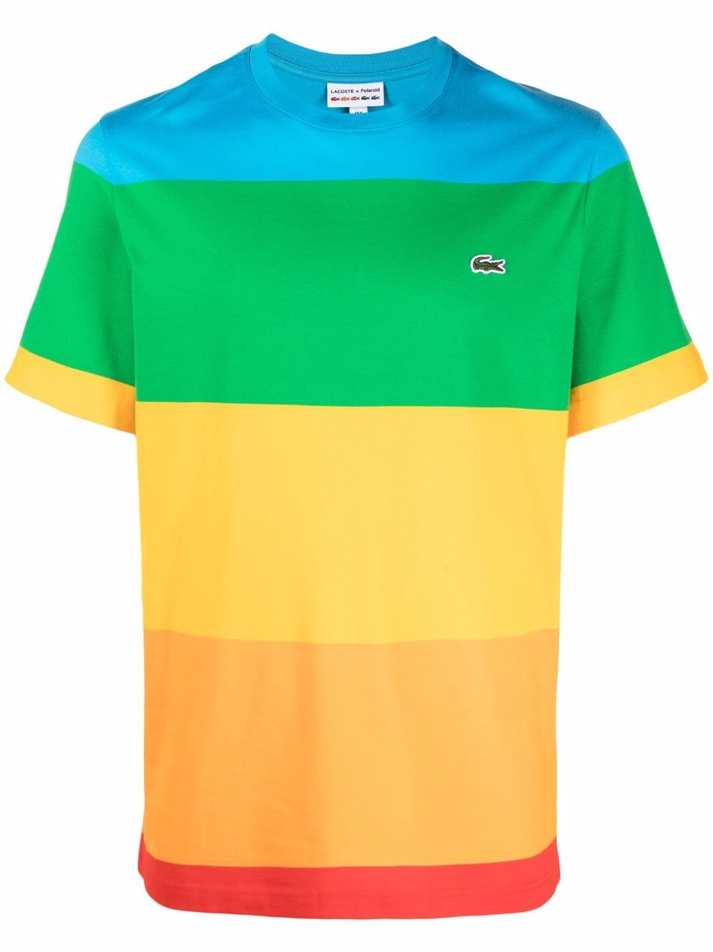 Lacoste logo t-shirt man multicolor LACOSTE | T-shirts | TH2098LLX