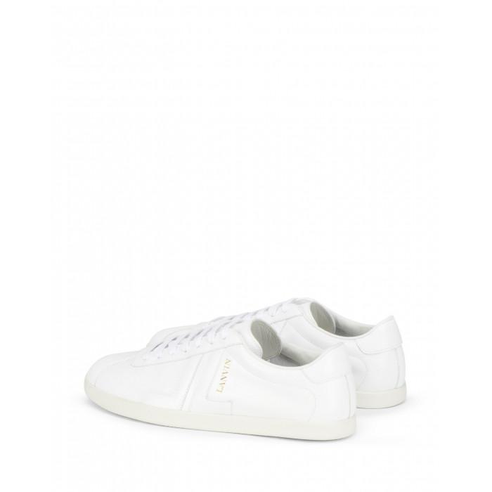 sneakers man white leather LANVIN | Sneakers | FM-SKDLON-MASO00