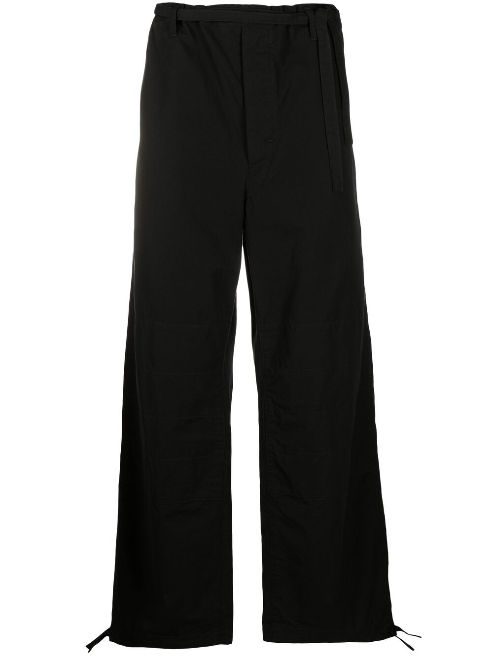 drawstring judo pants unisex black in cotton LEMAIRE   Trousers   211 PA165 LF575999