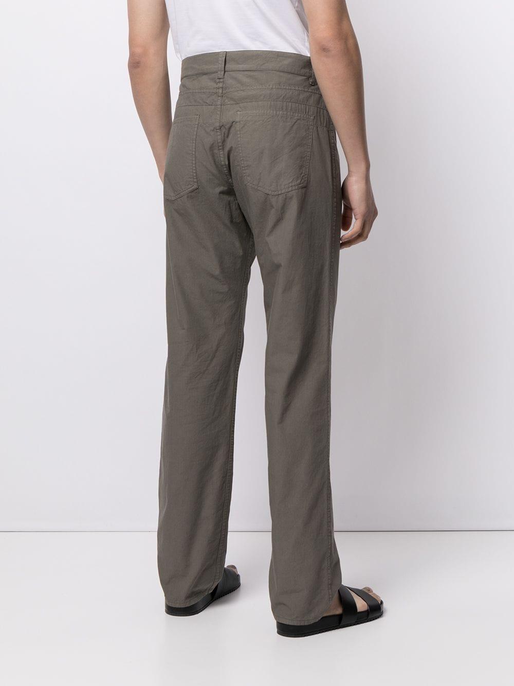Lemaire pantaloni a gamba dritta uomo LEMAIRE | Pantaloni | 211 PA167 LF288949