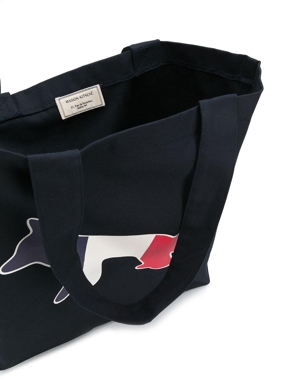 Maison Kitsuné borsa con logo unisex MAISON KITSUNÉ | Borse | AU05101WW0007NA