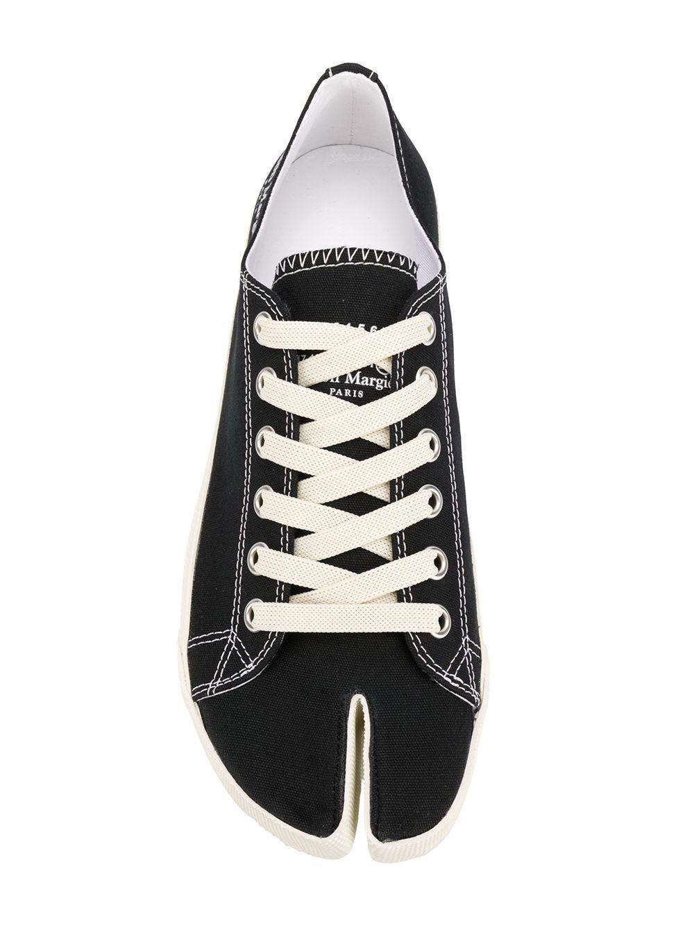 Maison Margiela tabi sneakers man black MAISON MARGIELA | Sneakers | S57WS0252 P1875T8013