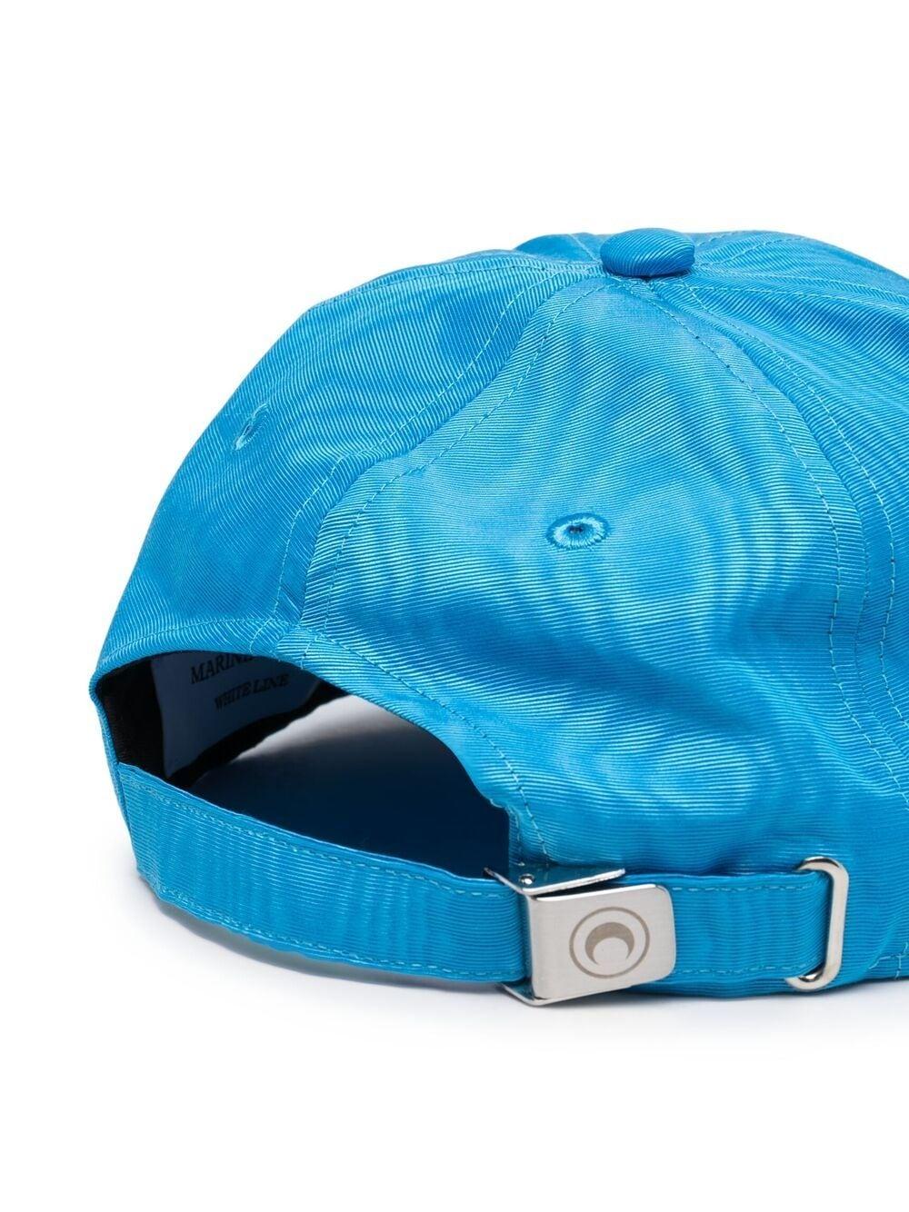 MOIRE BRANDED CAP MARINE SERRE | Hats | A008SS21X-WOTPL00106