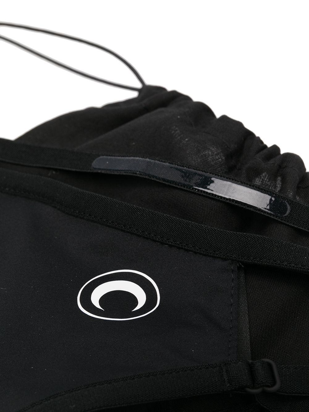 logo mask unisex black MARINE SERRE | Face Mask | A059ICONX-JERPA000851-00
