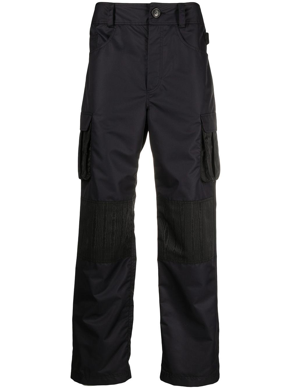 Marine Serre pantalone cargo uomo MARINE SERRE | Pantaloni | P081SS21M-WOTPA00000