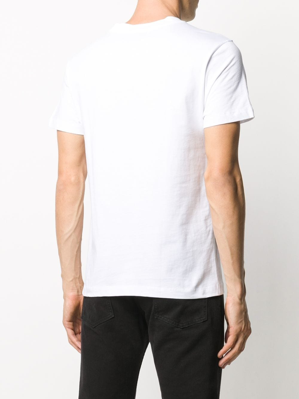 MOON LOGO TEE MARINE SERRE | T-shirts | T035ICONM-JERCO00201