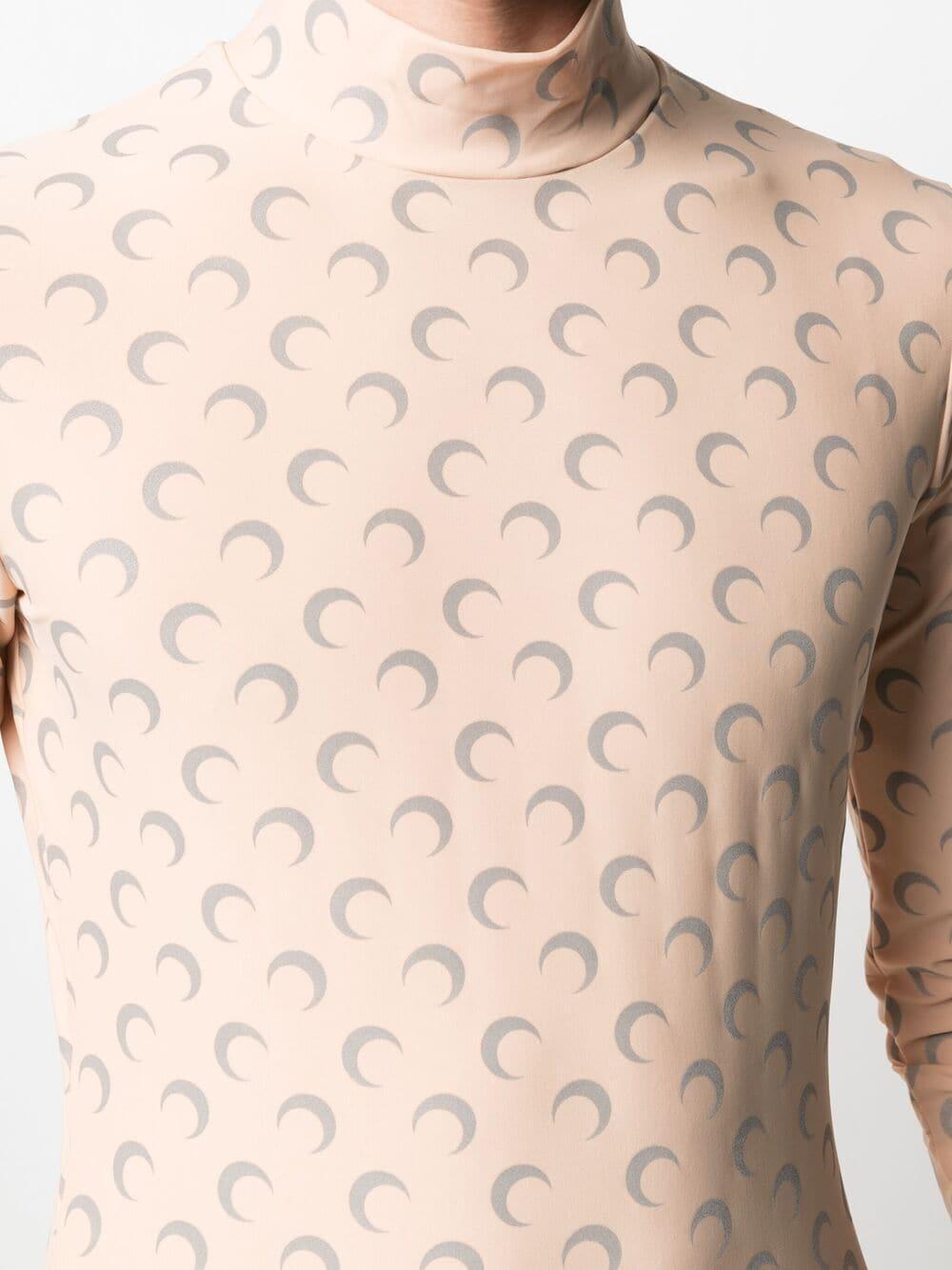 Top Con Stampa Mezzaluna Unisex MARINE SERRE | T-shirt | T088SS21M-JERPL000948-09