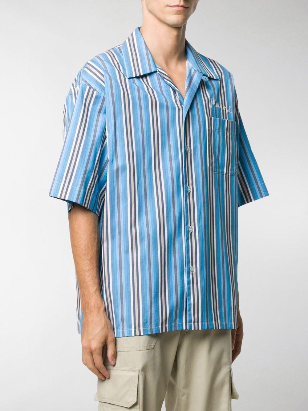 Camicia A Righe Uomo MARNI | Camicie | CUMU0054A0 S53649STB44