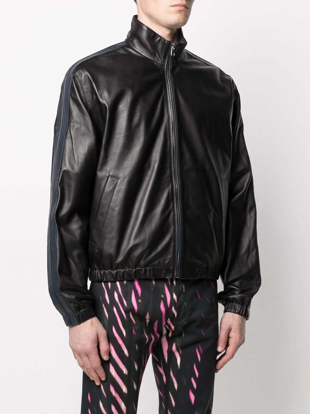 leather jacket man black MARNI | Jackets | JUMY0026Q0 SY153800N99