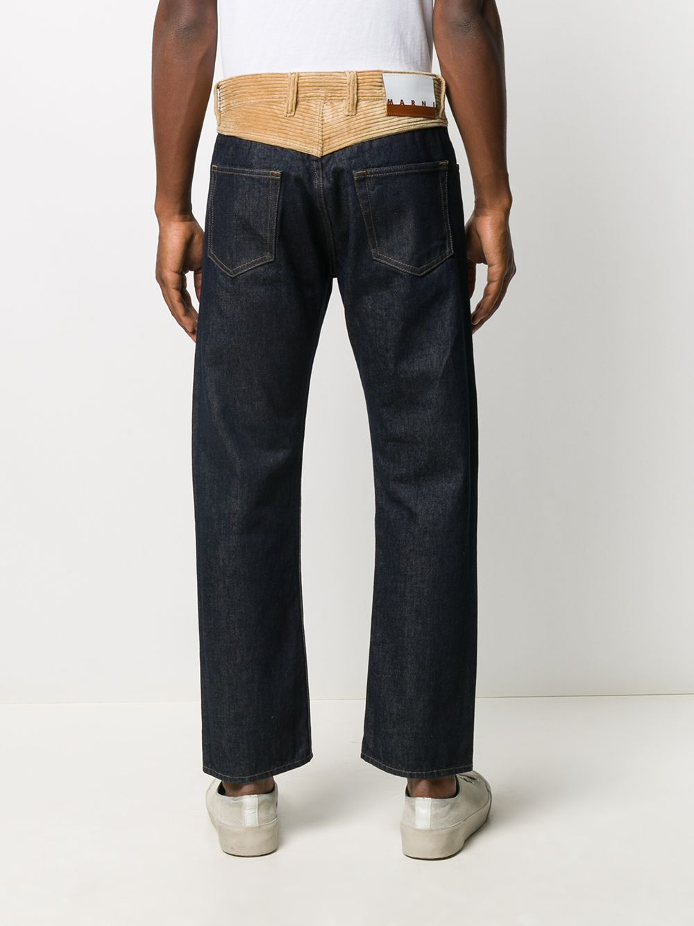 Marni jeans con bustino a coste uomo MARNI | Jeans | PUJU0017QM S3070000B99